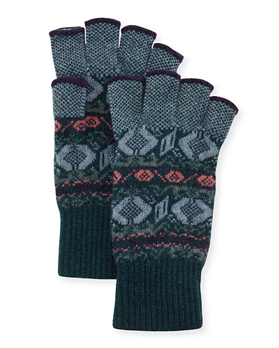 Cashmere Fingerless Gloves