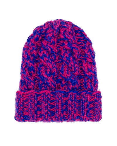 Mika Hand Knit Cable Beanie