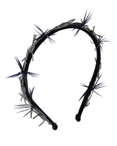 BARBED WIRE HEADBAND