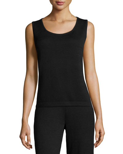 Contour Scoop Neck Tank