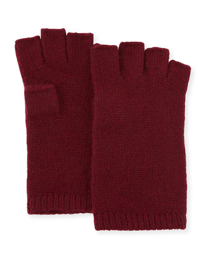 Cashmere Basic Fingerless Gloves