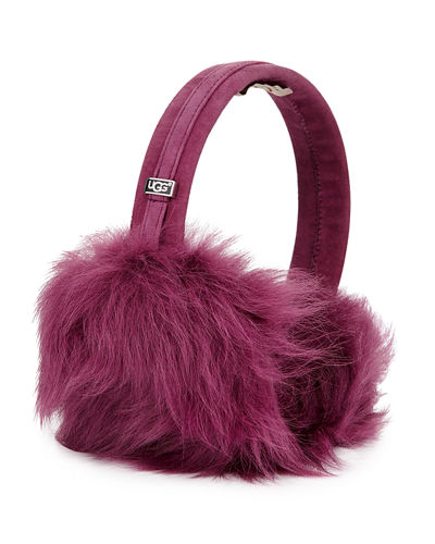 Toscana Headphone Wired Shearling Fur Ear Muffs