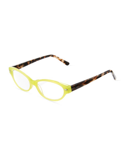 Giggly Cat Eye Acetate Readers