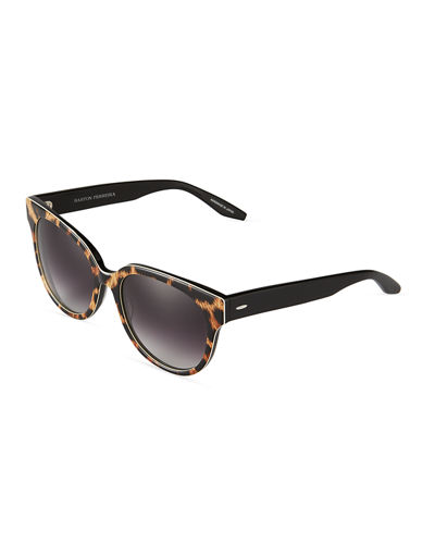 Valley Girl Modified Cat-Eye Sunglasses