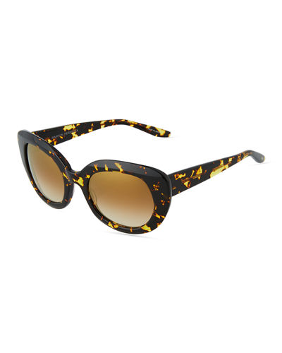 Loulou Plastic Butterfly Sunglasses