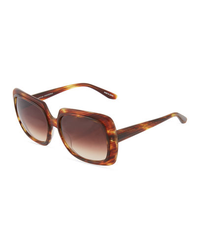 Renaissance Two Tone Square Sunglasses