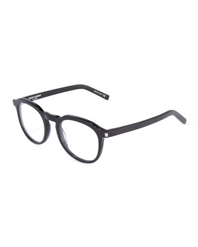 52mm Plastic Round Optical Glasses