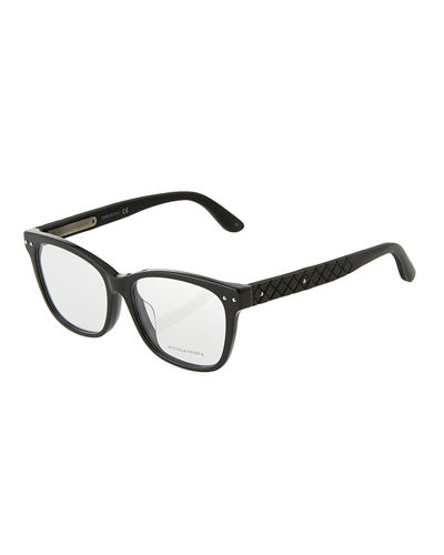 Two-Tone Square Optical Glasses