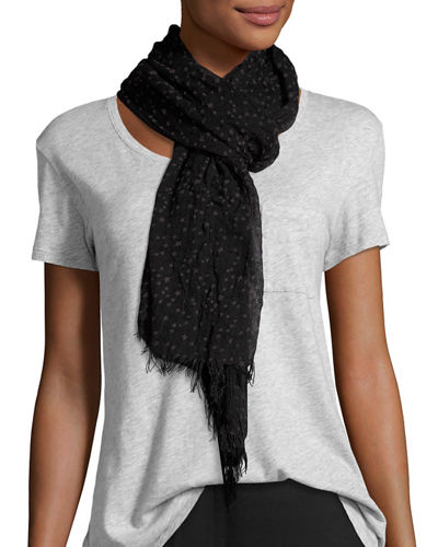 Sheer Crinkled Scarf