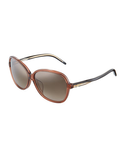 Rectangle Twist Sunglasses