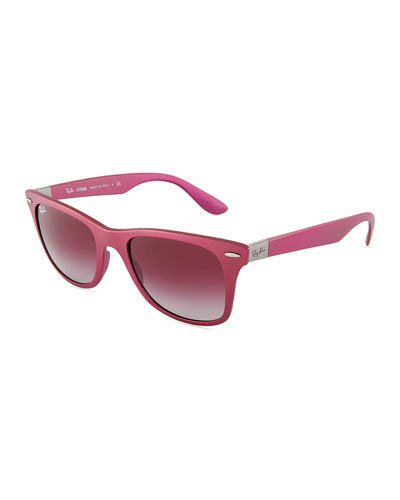 Wayfarer Mirrored Sunglasses