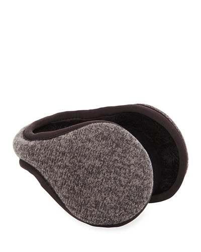 Knit Behind-the-Head Ear Warmers