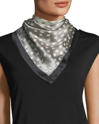 Shadow Dot Bandana Scarf