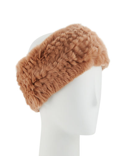 Rabbit Fur Headband