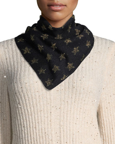 All-Star Metallic Star Bandana