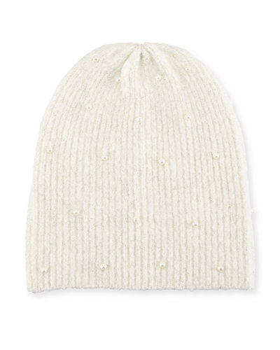 Pearly Knit Beanie
