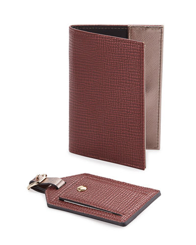 Passport Holder & Luggage Tag Boxed Set