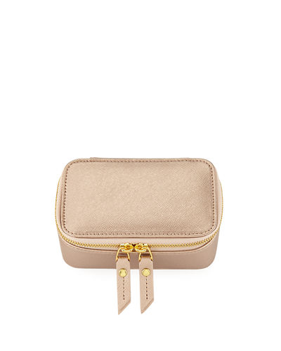 Saffiano Small Jewelry Case