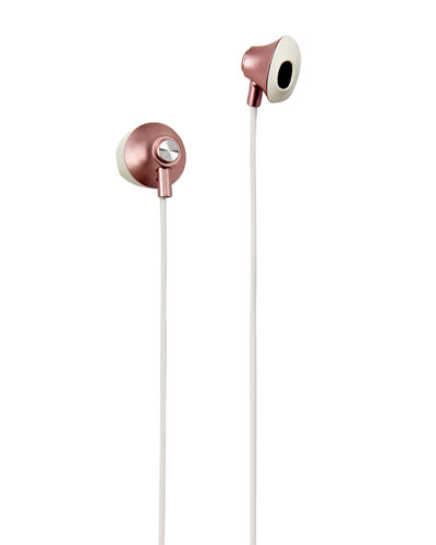 Shimmer Metallic Stereo Earbuds w/ Mic
