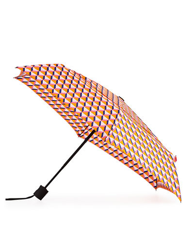 Printed Auto-Open and Close Umbrella