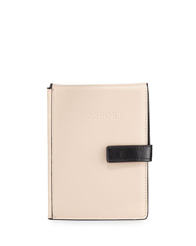 Colorblock Passport Travel Wallet