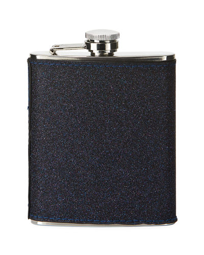 Glittered Stainless Steel Flask