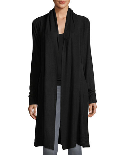 Long Soft-Knit Duster Cardigan