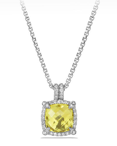 9mm Châtelaine® Bezel Necklace with Diamonds