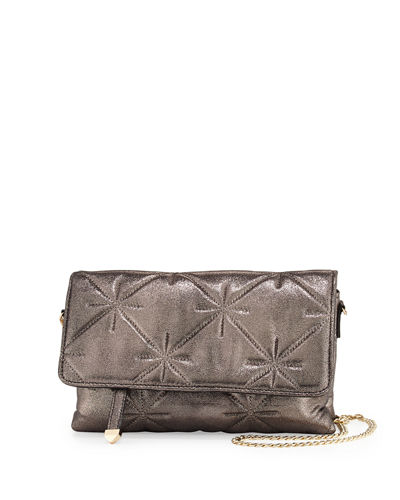 Quilted Chain-Strap Shoulder Bag