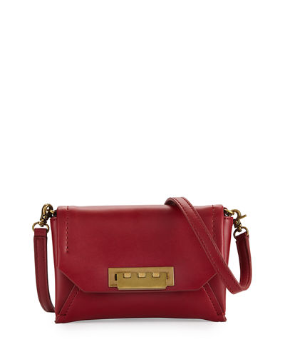 Eartha Leather Envelope Crossbody Bag