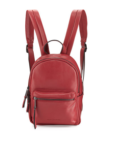 Perry Faux-Leather Mini Backpack