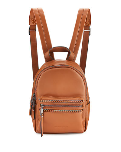 Alexa Woven Chain Mini Backpack