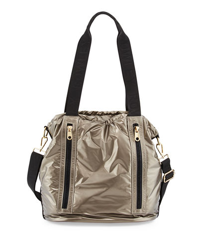 Malia Nylon Drawstring Bag