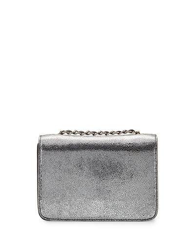 Claire Boxy Leather Crossbody Bag