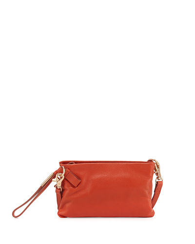 Cache Leather Crossbody Bag