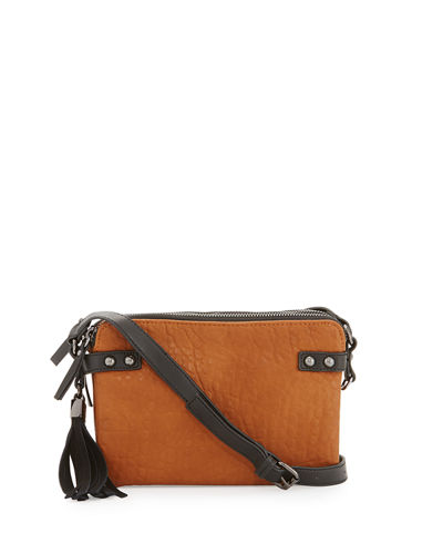 Camden Crossbody Bag with Suede Tassel
