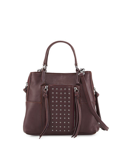Everette Mini Leather Crossbody Bag