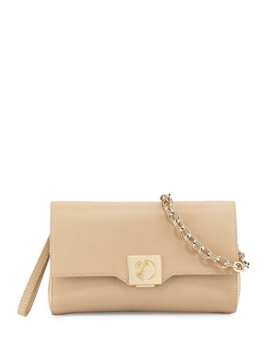 Thin Leather Crossbody Bag