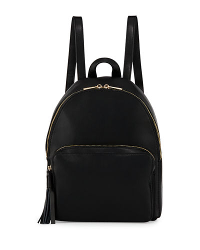 Alexa Small Leather Pocket Backpack