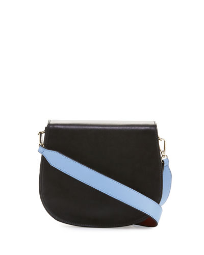 Eliza Leather Saddle Bag