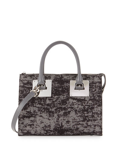 Niko 2 Floral Lace Satchel Bag