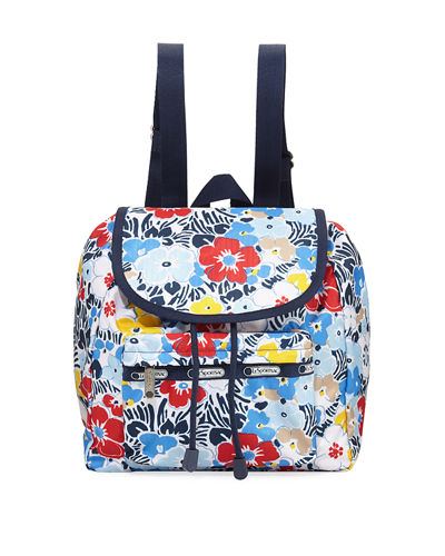 Edie Small Printed Backpack
