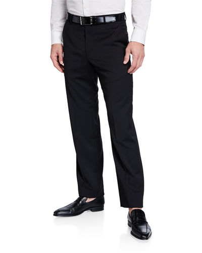Dunhill Wool Straight-Leg Trousers