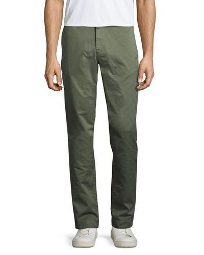 Leonard Straight-Leg Chino Pants