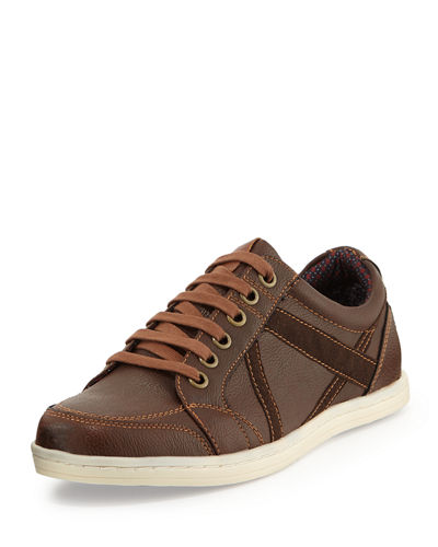 Knox Lace-Up Contrast Sneaker