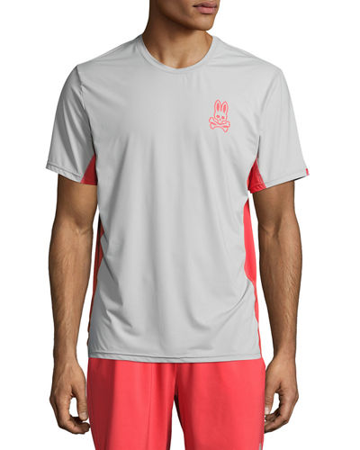 Short-Sleeve Performance Tee W/ Mesh Panels