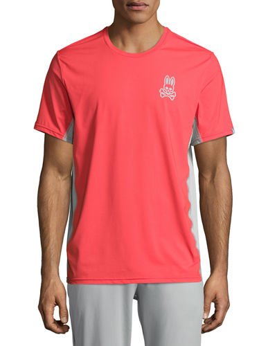 Short-Sleeve Performance T-Shirt W/ Mesh Panels