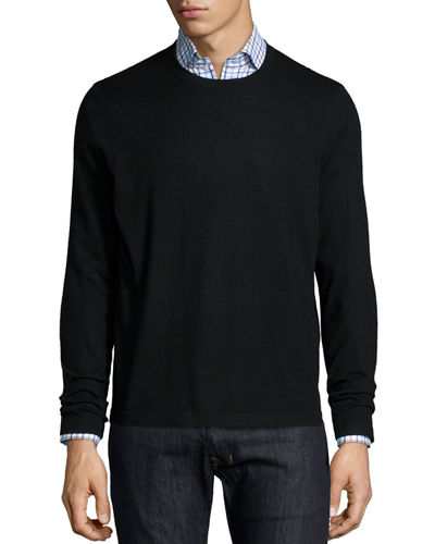 Superfine Cashmere Crewneck Sweater