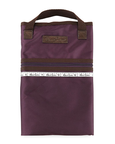 Plaid-Line Soft Garment Bag