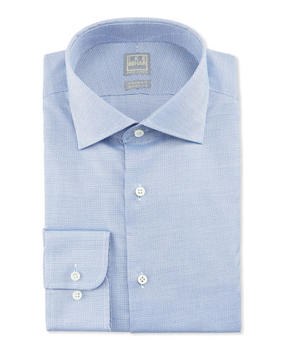 Textured Solid Dress Shirt